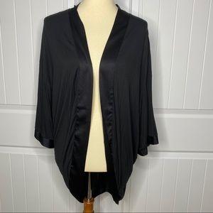 Victoria's Secret black kimono cardigan size M/L